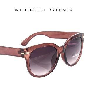 🕶 ALFRED SUNG Sunglasses + Case